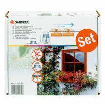Gardena teljesen önműködő erkélyláda öntözés