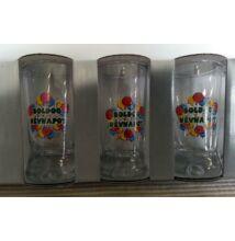 Pálinkás pohár készlet 6 db-os 25 ml Névnap