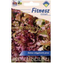 Tölgylevelű piros saláta