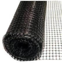 Műanyag kerítés 1 m magas 10 mm x 10 mm