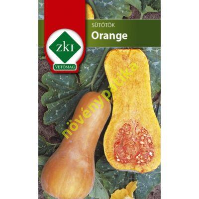Orange sütőtök