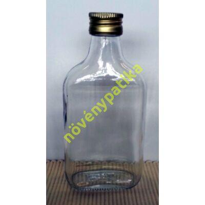 Lapos üveg 200 ml