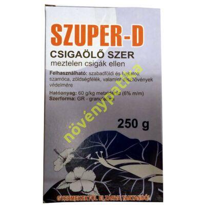 Szuper-D csigaölő granulátum 25 dkg
