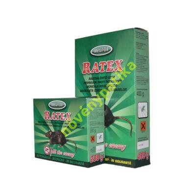 Ratex rágcsálóirtó granulátum 200g (egér, patkány)