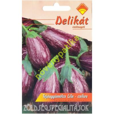 Lila csíkos Tsakoniki tojásgyümölcs