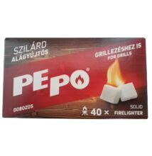 PE-PO szilárd dobozos alágyújtós