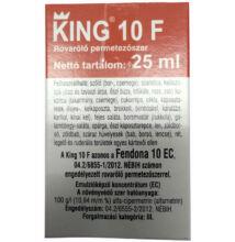 King 10 F rovarölő szer 25 ml = Fendona 10