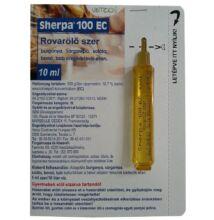 Sherpa 100 EC rovarölő szer 10 ml