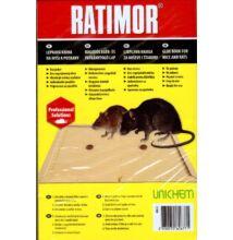 Ragasztós egér- és patkányfogó lap Ratimor