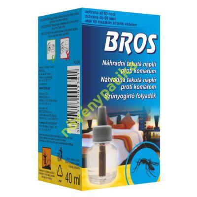 BROS szúnyogirtó folyadék 40 ml