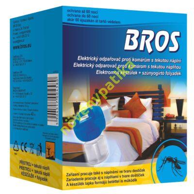 BROS szúnyogirtó folyadék + elektromos készülék