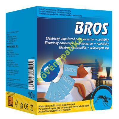 BROS szúnyogirtó lap 10 db + elektromos készülék