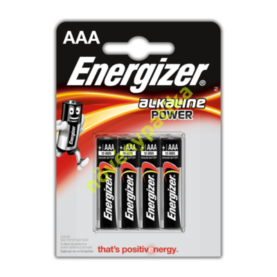 Energizer elem AAA (4 db)