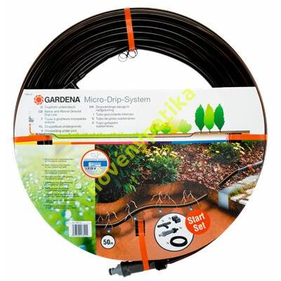 Gardena föld alatti csepegtetőcső 13,7 mm + nyomásszabályzó