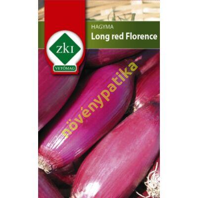 Long red Florence lila sonkahagyma