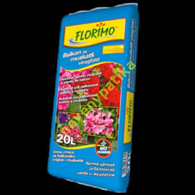 Balkon és Muskátli virágföld 50 liter