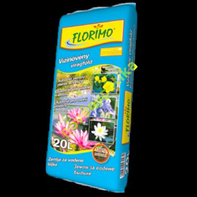 Vízinövény virágföld