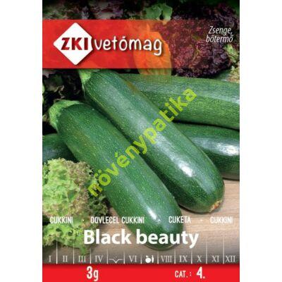 Black beauty cukkini