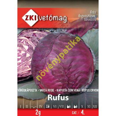Rufus vöröskáposzta