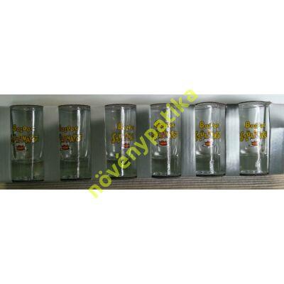 Pálinkás pohár készlet 6 db-os 25 ml Születésnap