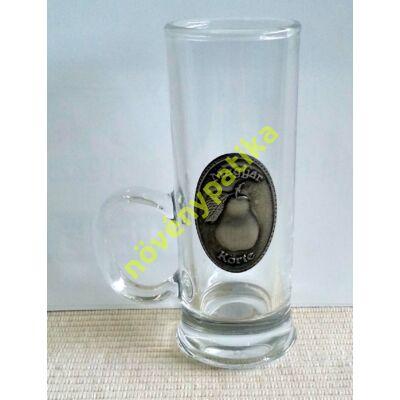 Füles pohár óncimkés 40 ml Körte