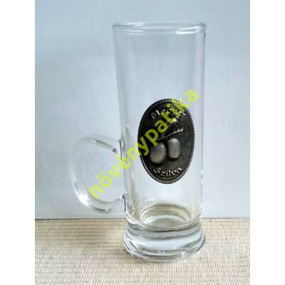 Füles pohár óncimkés 40 ml Szilva