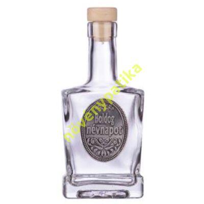 Díszüveg óncimkés Boldog névnapot 200 ml