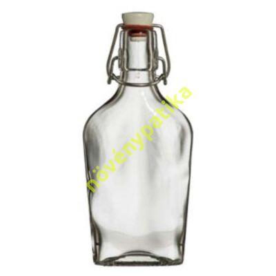 Csatos üveg lapos 200 ml