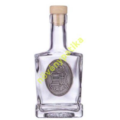 Díszüveg óncimkés Magyarország 500 ml