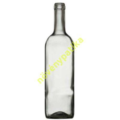Boros palack 0,75 liter szintelen
