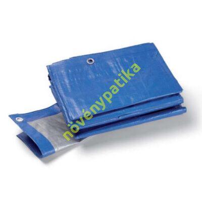 Ponyva kék/szürke 3 m x 4 m