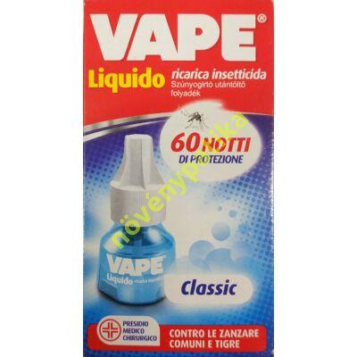 VAPE elektromos készülékhez folyadék szúnyogok ellen