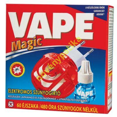 VAPE elektromos készülék és folyadék szúnyogok ellen