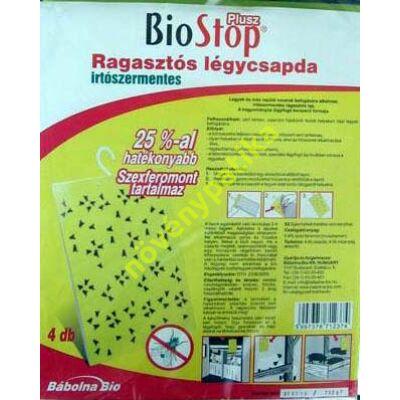 BioStop Plusz légycsapda óriás 4 db