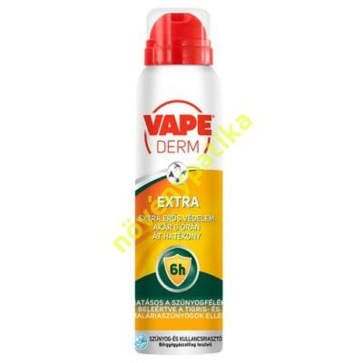VAPE Derm Invisible szúnyog- és kullancsriasztó száraz aeroszol 100 ml
