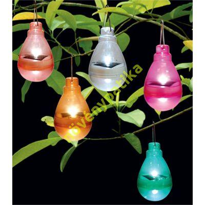 napelems lampa