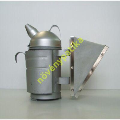 Méhész füstölő hagyományos kis műbőr fújtatóval
