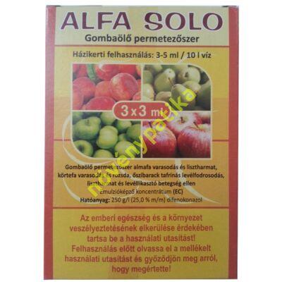 Alfa Solo 3x3 ml
