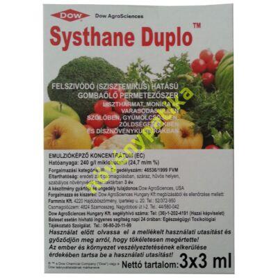 Systhane duplo 3x3 ml