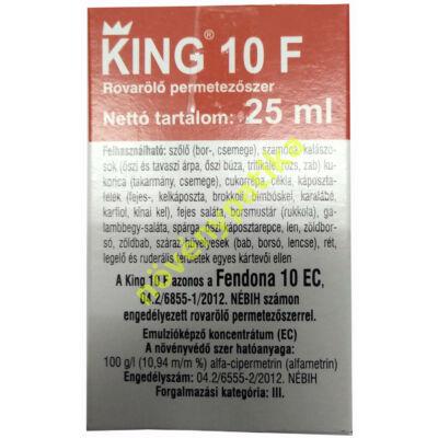 King 10 F