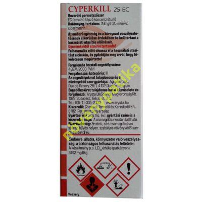 Cyperkill 25 EC rovarölő szer 50 ml