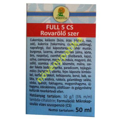 Full 5 CS = Karate Zeon 50 ml