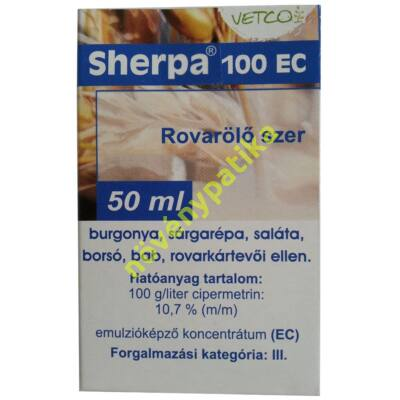 Sherpa 100 EC rovarölő szer 50 ml