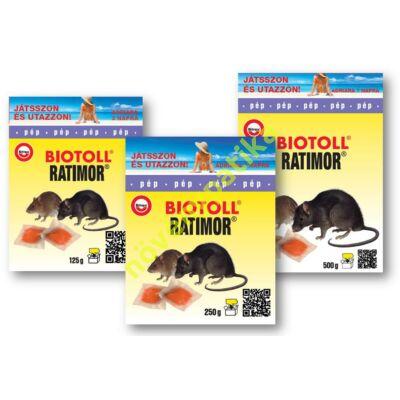 Biotoll rágcsálóirtó pép 125g (egér, patkány)