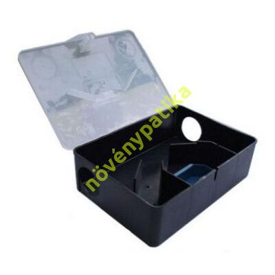 Patkányetető doboz átlátszó tetővel
