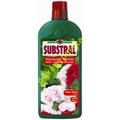 Substral tápoldat muskátlihoz és balkonnövényekhez 1 liter