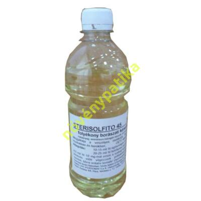 Törzsoldat 45 % Sterisolfito 250 ml