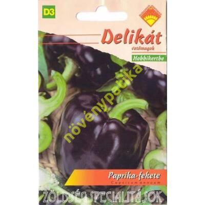 Fekete Kaliforniai paprika
