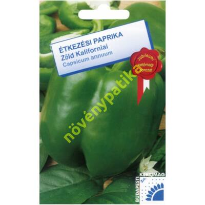 Zöld kaliforniai paprika